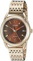 Citizen Women's FE6083-56X Drive Analog Display Japanese Quartz Rose Gold Watch