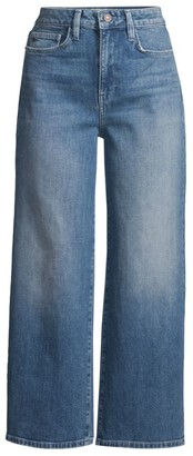 Lafayette 148 New York Wyckoff High-Rise Wide-Leg Jeans