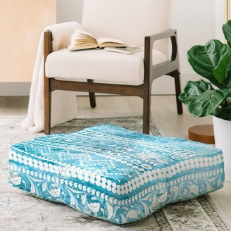 Bodhi East Urban Home Schatzi Bohemian Stripe Floor Pillow East Urban Home