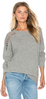 Fine Collection Joe Lace Up Sweater