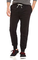 Polo Ralph Lauren Ribbed-Cuff Cotton-Blend Fleece Jogger Pants