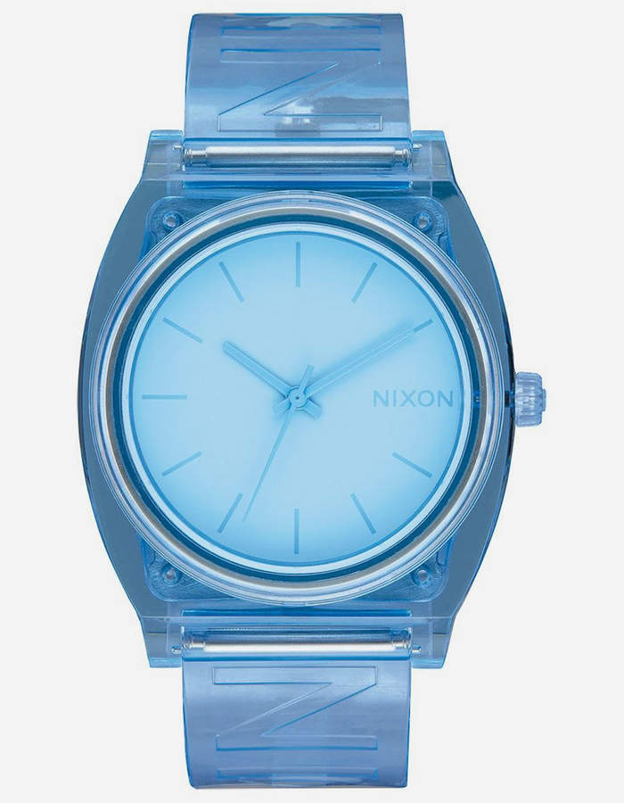 Nixon Time Teller P Light Blue Watch
