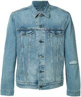 Levi's flap pockets denim jacket - men - Cotton - XXL