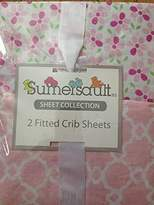 Sumersault Fitted Crib Sheets Set of Two