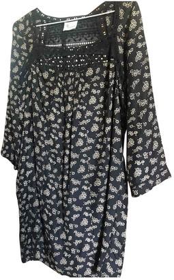 Stella Forest Black Silk Dress for Women