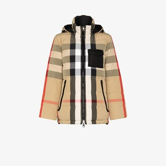 Burberry Hemsworth Vintage check reversible down coat