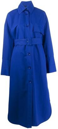 Christian Wijnants belted Caja coat