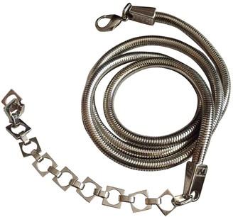 Fendi Silver Metal Belts