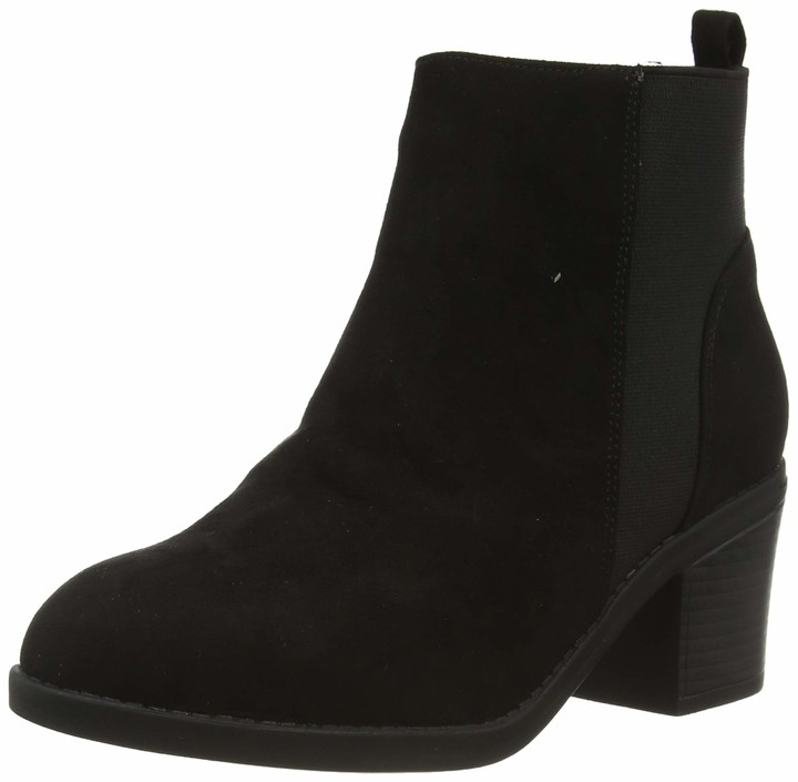 New Look Women's WF CORA IC-SDT CHLS BLK HL63:1:S203 Ankle Boots