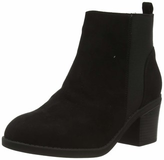 New Look Women's WF CORA IC-SDT CHLS BLK HL63:1:S208 Ankle Boots