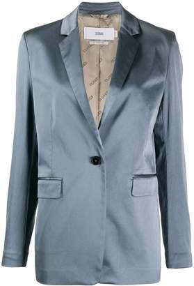 Closed plain sheen blazer