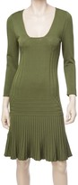 Max Studio 3/4 Sleeved Sweater Dress