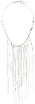 Fabiana Filippi Fringe Beaded Necklace