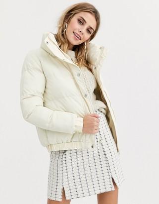 Brave Soul slay cropped padded coat