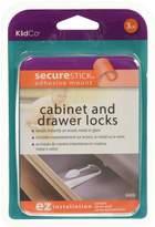 KidCo Adhesive Mount Cabinet/Drawer Lock
