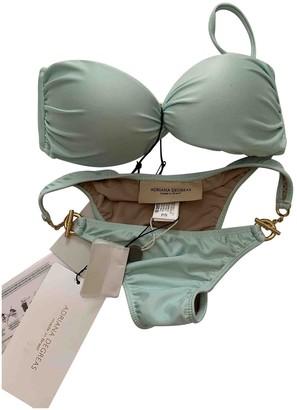Adriana Degreas Green Lycra Swimwear for Women