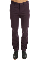 Acne Studios Carey Shiny Wine Trouser