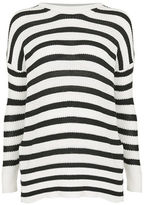 Topshop MATERNITY Breton Striped Sweater