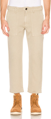 Visvim HW Drill Mil Pants in Beige | FWRD