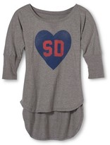 San Diego Local Pride by Todd Snyder Women's SD Love Dolman Tee - Heather Gray