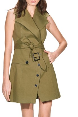 Toccin Trench Wrap Dress