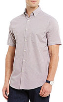 Hart Schaffner Marx Checked Dobby Short-Sleeve Shirt