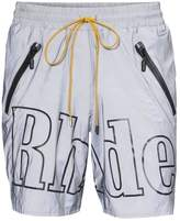 Rhude Logo Nylon Swim Trunks