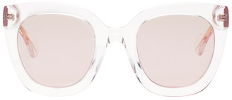 Gucci Pink Square Sunglasses
