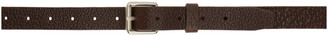 Lemaire Brown Leather Belt