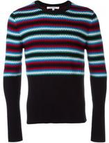 Carven striped intarsia jumper