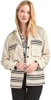 Gap Textured stripe utility jacket