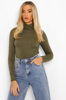 Boohoo Laura Turtle Neck Long Sleeve Top