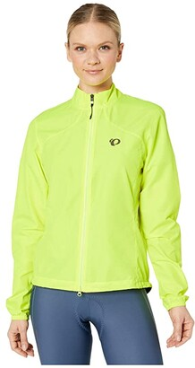 Pearl Izumi Quest Barrier Jacket (Screaming Yellow) Women's Clothing
