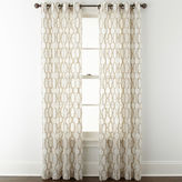 STUDIO BY JCP HOME StudioTM Casey Sheer Grommet-Top Curtain Panel