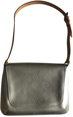 Louis Vuitton Thompson Grey Patent leather Handbags