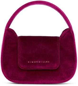 Simon Miller Pink Velvet Mini Retro Bag