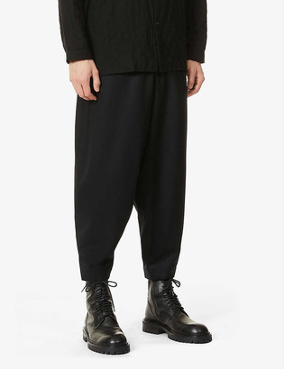 Toogood The Acrobat tapered wool and cashmere-blend trousers