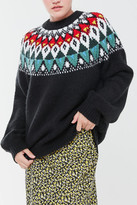 UO Cadence Intarsia Knit Sweater