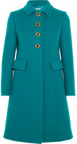 Miu Miu Wool-felt Coat - Jade