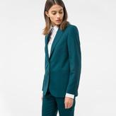 Women Dark Green Blazer - ShopStyle