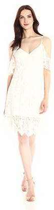 Plenty by Tracy Reese Women's Off Shoulder Lace Dress