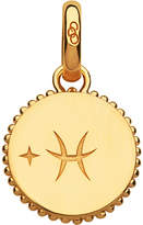 Links of London Pisces 18ct yellow-gold vermeil zodiac charm