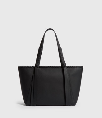 AllSaints Kepi Small East West Leather Tote Bag