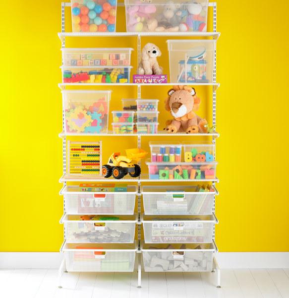 Elfa freestanding Kid's Storage White