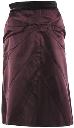 Louis Vuitton Red Silk Skirts