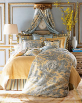Legacy King Lutece Cypress Toile Duvet Cover