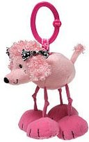 Infantino TEETHER PAL Jittery Pal - Lola the Pink Poodle (Styles May Vary)