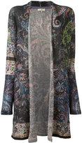 Etro printed cardigan - women - Linen/Flax/Polyester - 42