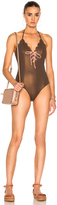 Marysia Swim Broadway Tie Maillot Swimsuit
