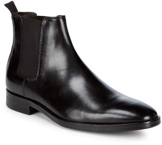 Bruno Magli Leather Chelsea Boots